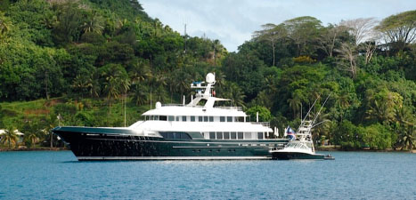 147' Marco Polo superyacht Dorothea 3 built by Cheoy Lee and refitted by Derecktor Florida