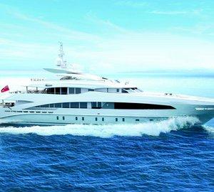 Launch of 50m Heesen motor yacht MONACO WOLF (Project AZURO, YN 16650)