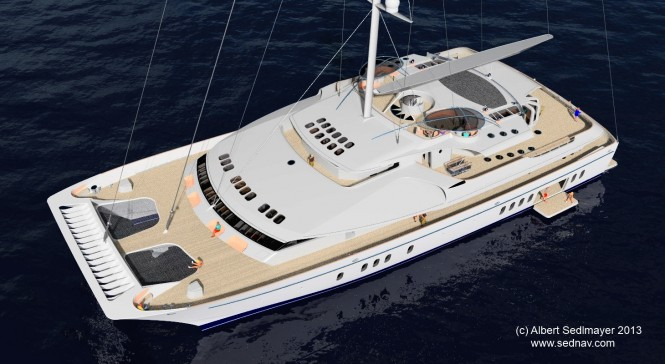 52m superyacht SPECTRUM 52 introduced by Albert Sedlmayer