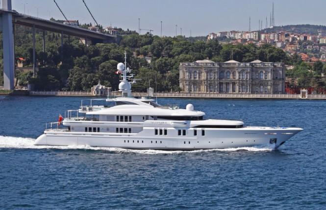 70m mega yacht Talisman C entirely designed by H2 Yacht Design