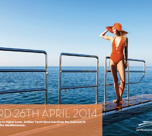 Antibes Yacht Show 2014: Day 1