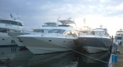 Cheoy Lee Yachts at the 2014 Palm Beach Boat Show