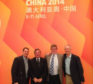 Australia Week in China coincided with Shanghai Boat Show