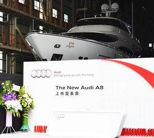 Horizon Yachts and Taiwan Audi team together