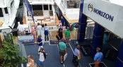 Horizon's stand at the 2014 Palm Beach Boat Show
