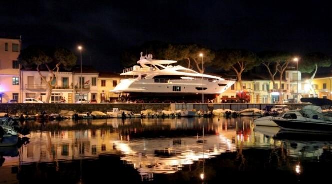 Launch of Azimut Grande 95RPH Yacht