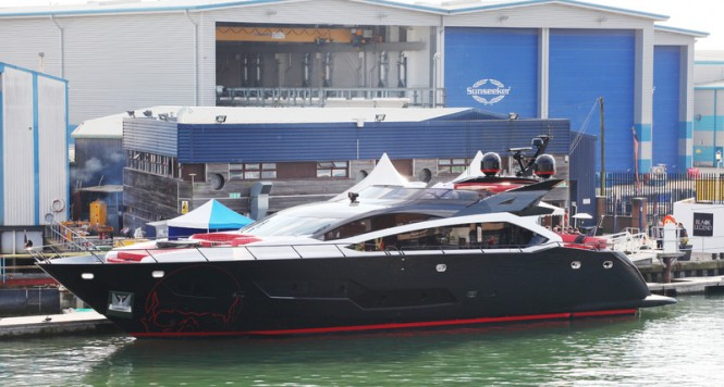 Luxury motor yacht BLACK LEGEND