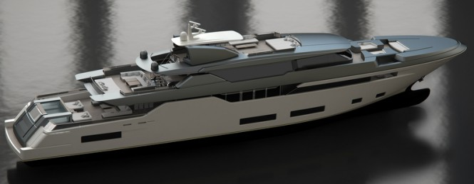 Luxury motor yacht FEBO concept by Zuccon SuperYacht Design