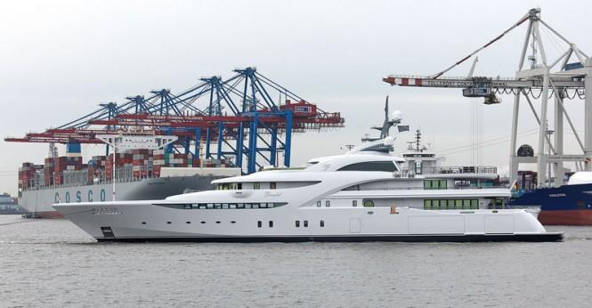 Luxury motor yacht GRACEFUL by Blohm + Voss