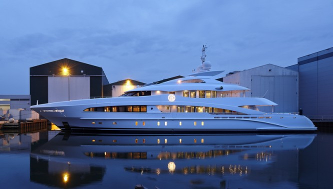Luxury motor yacht MONACO WOLF (YN16650) by Heesen Yachts - Image credit to Dick Holthuis Photography