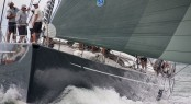 Luxury sailing yacht Silvertip at the NZ Millennium Cup