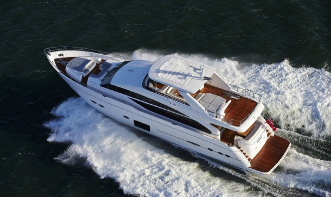 Luxury superyacht Princess 88 by Princess Yachts