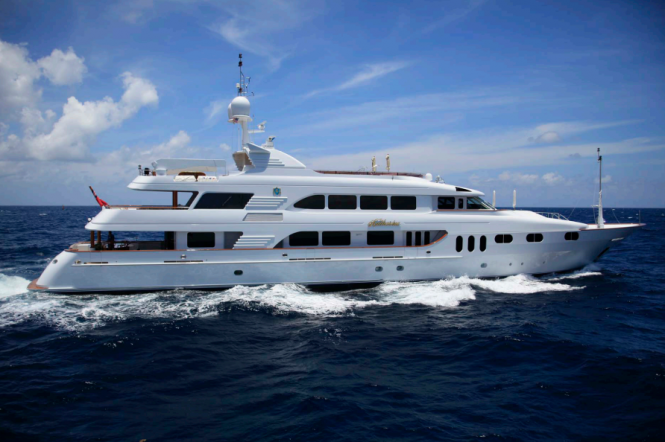 Luxury yacht KERI LEE III (ex Katharine)