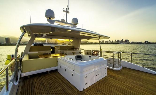 Luxury yacht ZAPHIRA - Exterior - Image credit to Alberto de Abreu Sodre