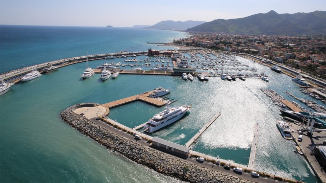 Marina in Loano - Italy - Superyacht Area