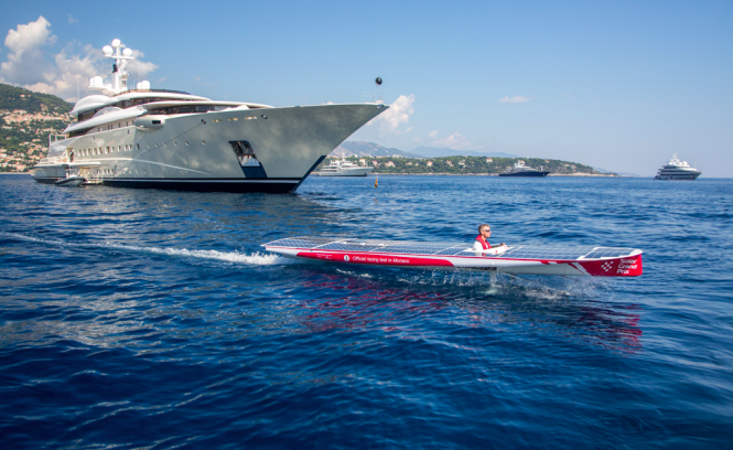 Monaco Sea Trials ahead of the Solar1 Monte Carlo Cup 2014