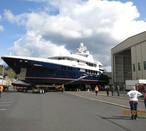 New 50m motor yacht D'NATALIN IV (Project C-2014) launched by Christensen