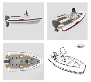 New Alessandro Marchi DL yacht tender series to be launched in Summer 2014