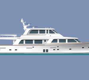 New Offshore 87' Motor Yacht sold and nearing completion