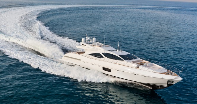 New Overmarine superyacht Mangusta 110 featuring Seakeeper gyro as option