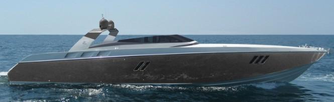 OTAM 80 Millennium OPEN Yacht in titanium