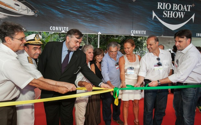 Official opening of the 2014 Rio Boat Show - Image credit to Humberto Teski