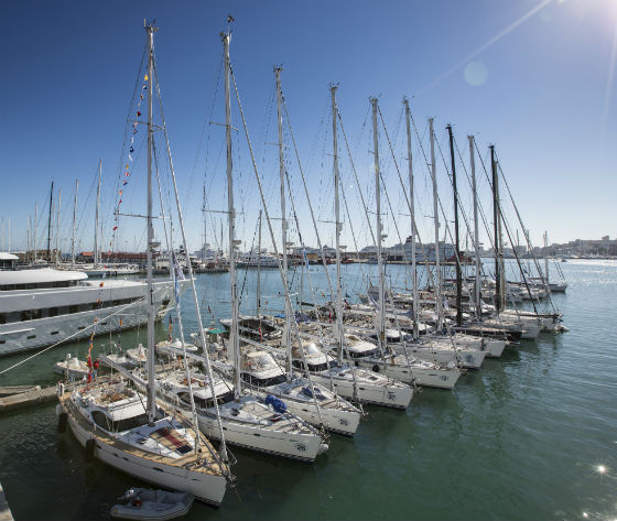 Oyster Yachts Palma during the 2013 regatta