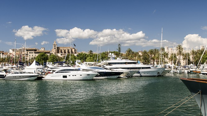 Palma Superyacht Show - Image courtesy of Palma Superyacht Show