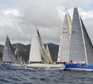BVI Spring Regatta and Sailing Festival 2014: Day 1