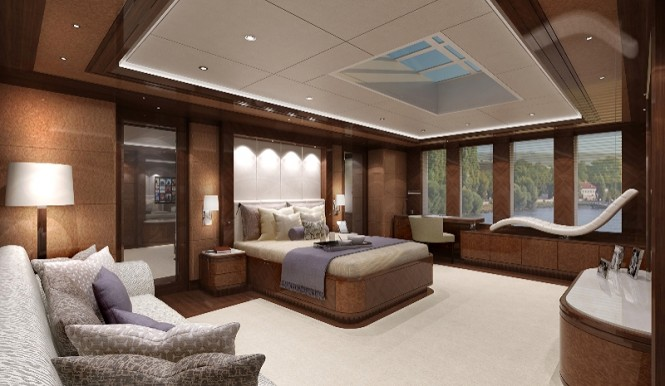 River Yacht - Interior