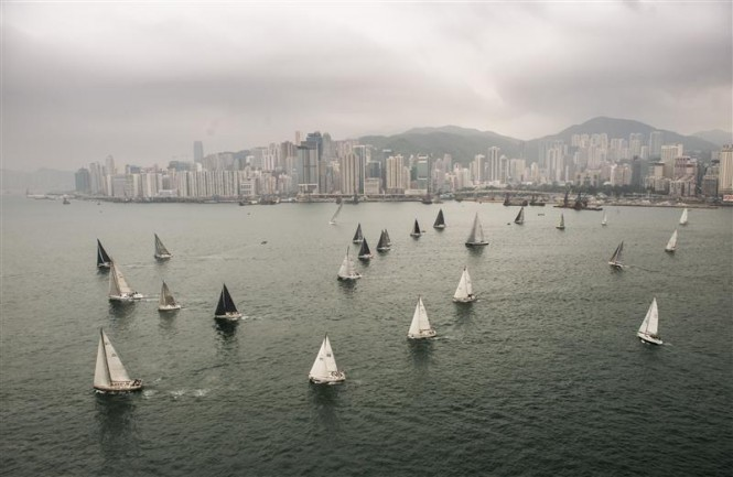 Rolex China Sea Race 2014 Race Start - Image by Rolex Kurt Arrigo