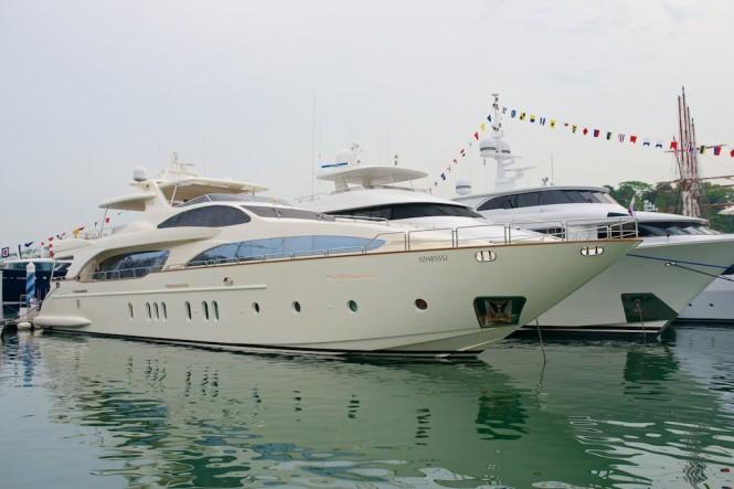 Singapore Yacht Show 2014 @Michael Denker @YachtsXL