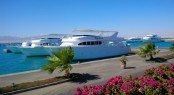 Soma Bay Marina in the breath-taking Middle East yacht charter location - Egypt