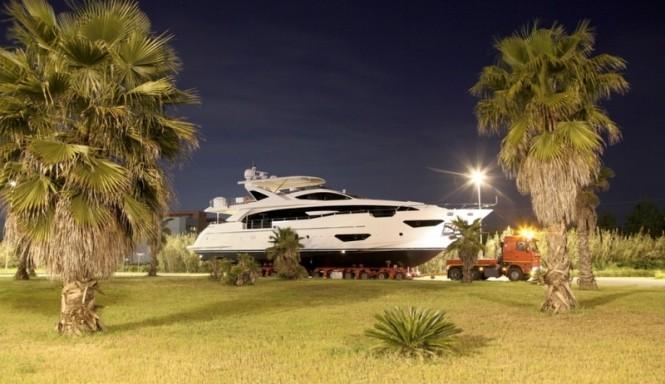 Superyacht Azimut Grande 95RPH
