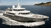 Superyacht Black Pearl with interior design by Chris Connell