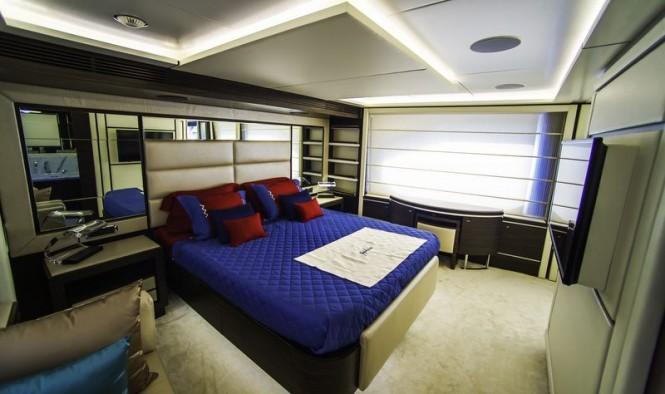Superyacht ZAPHIRA - Cabin - Image credit to Alberto de Abreu Sodre