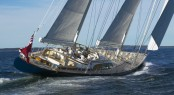 The 155-foot sailing yacht Asolare will be attending the 2014 Newport Charter Yacht Show - Photo courtesy of Nicholson Yachts