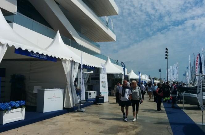 Varadero Valencia's stand at Valencia Boat Show