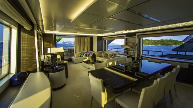 ZAPHIRA Yacht - Interior - Image credit to Alberto de Abreu Sodre
