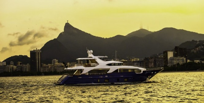 ZAPHIRA Yacht running - Image credit to Alberto de Abreu Sodre