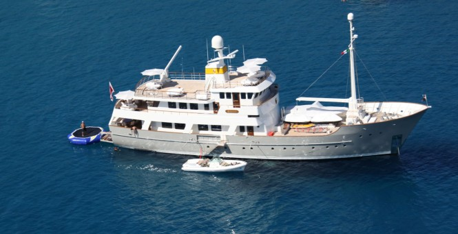 Zeepaard superyacht in Carribean - Copyrights Zeepaard