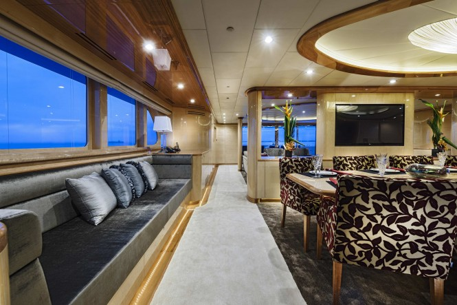 Zenith superyacht - Interior