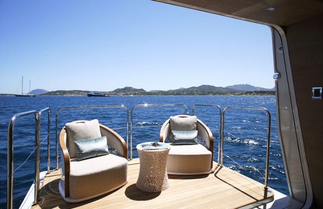Luxury superyacht Lady M by Palmer Johnson - Master Cabin