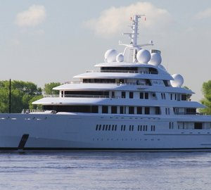 Additional photos and videos of 180m Lurssen superyacht AZZAM