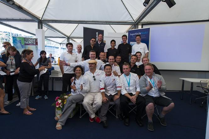 2014 MYBA Charter Show Chefs Comp Winners