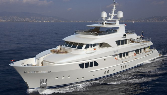 42m Moonen motor yacht Sofia