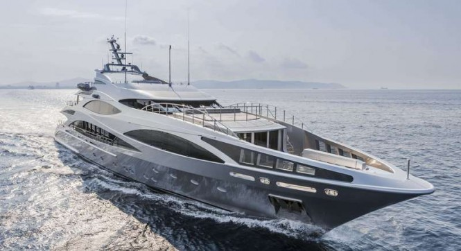 47m superyacht Panthera (FB502) by Benetti - a sister ship to super yacht Anastasia K (FB503)