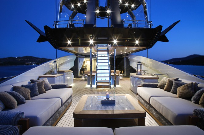 Palmer Johnson-built Lady M superyacht - Bridge Deck