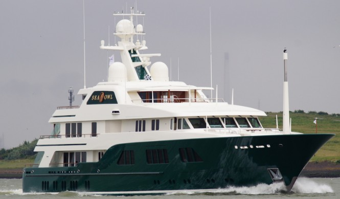 62m Feadship superyacht Sea Owl - Photo credit to Kees Torn