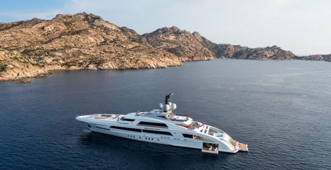 65m Heesen mega yacht Galactica Star